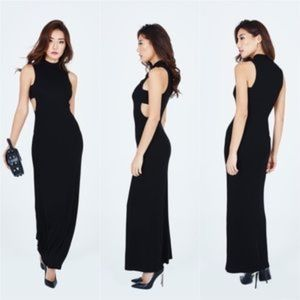 STONE COLD FOX | 'Aki' Stretchy Cutout Maxi Size 3